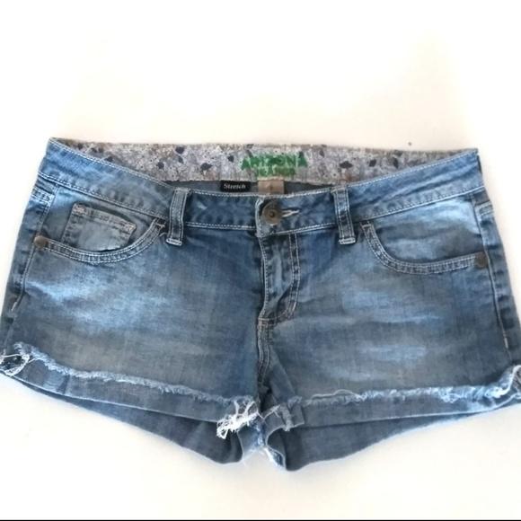 a483c905d697 Arizona Jean Company Shorts   Arizona Jean Co Womens Stretch Blue ...